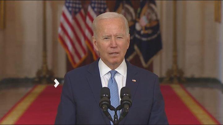 Biden asume la responsabilidad sobre la evacuación de Afganistán