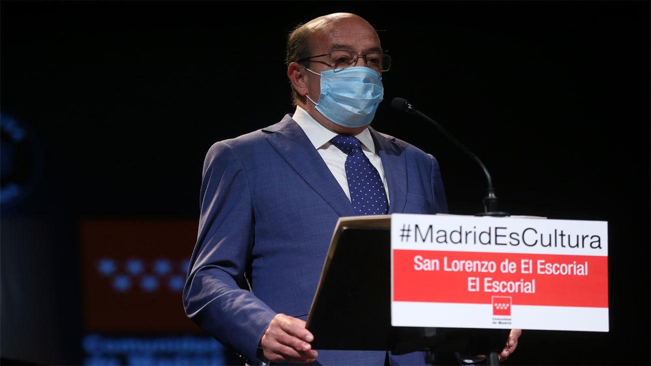 Antonio Vicente Rubio, alcalde de El Escorial