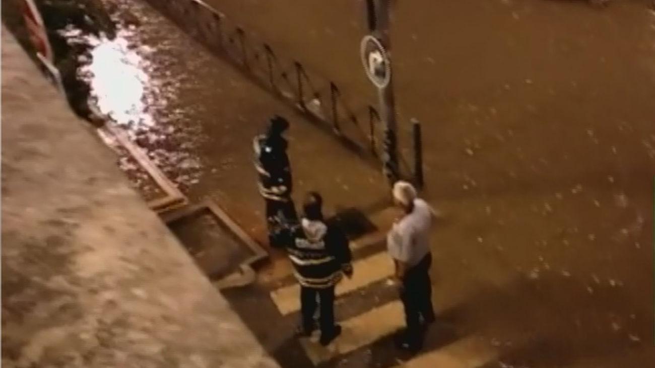 Inundaciones en Madrid por las fuertes tormentas