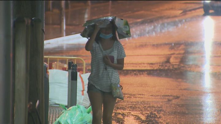 Madrid sigue este miércoles en riesgo de inundaciones por fuertes lluvias