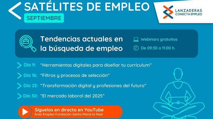 El 9 de septiembre comienzan los talleres de formación online para desempleados de la Fundación Santa María la Real