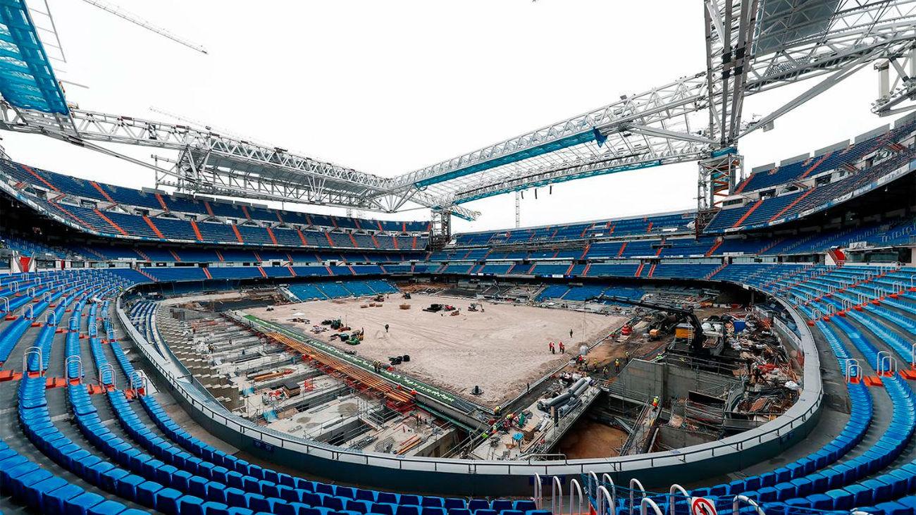 Obras de remodelación del Santiago Bernabéu