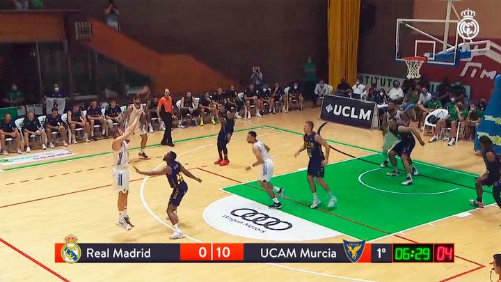 80-84. El UCAM Murcia gana a un Real Madrid con muchas ausencias