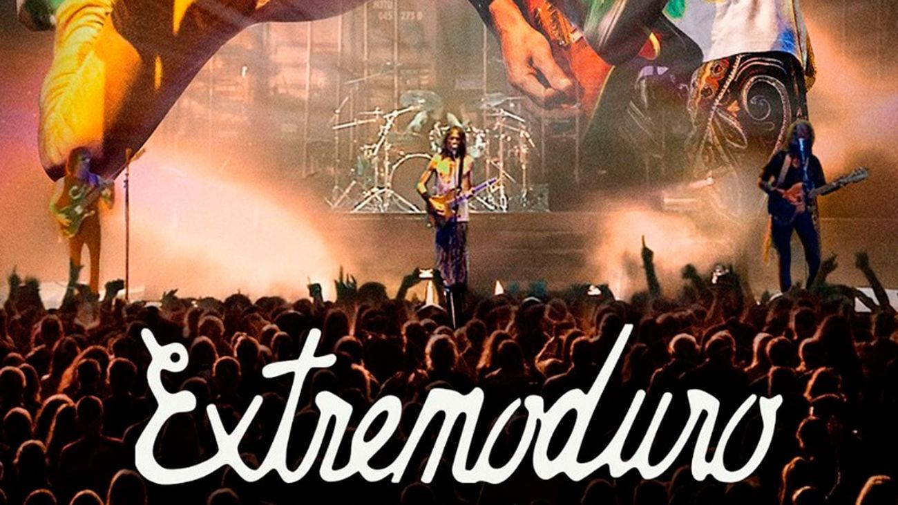 Cartel de presentación de la gira 2021 de Extremoduro