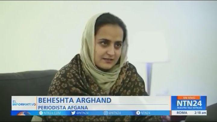Miedo de las mujeres a los talibanes: Sólo quedan 100 de las 700 periodistas que había en Afganistán
