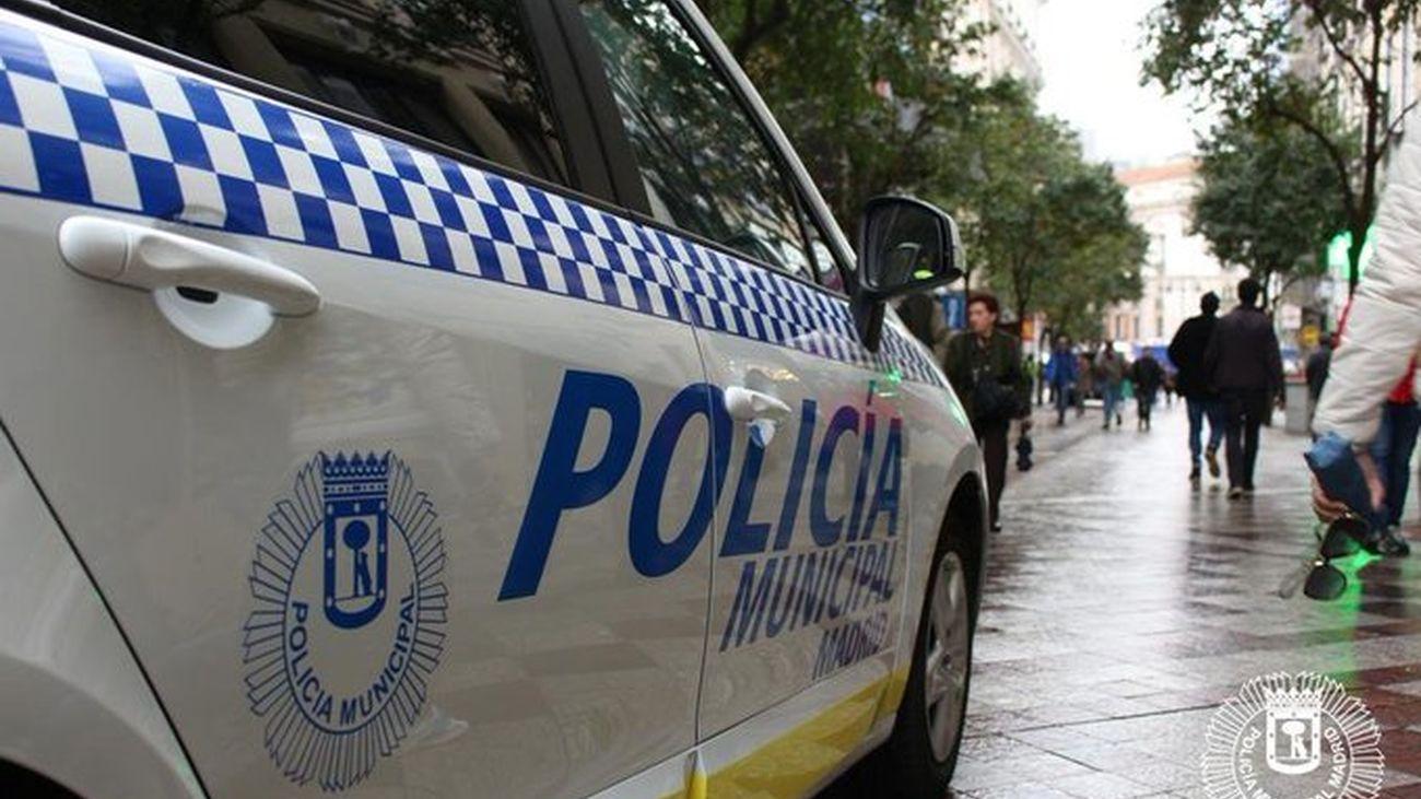Control de la Policía Municipal de Madrid