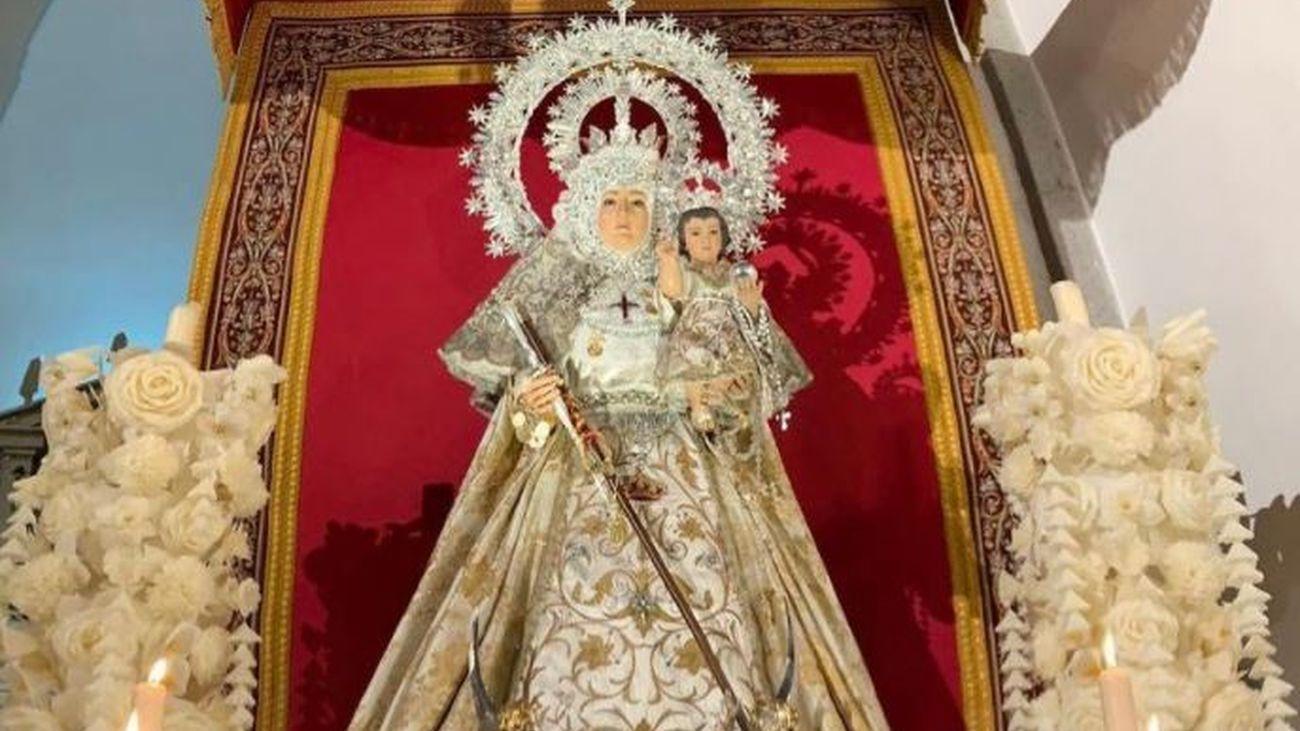 Pozuelo celebra actos litúrgicos esta semana para homenajear a su patrona, la Virgen de la Consolación