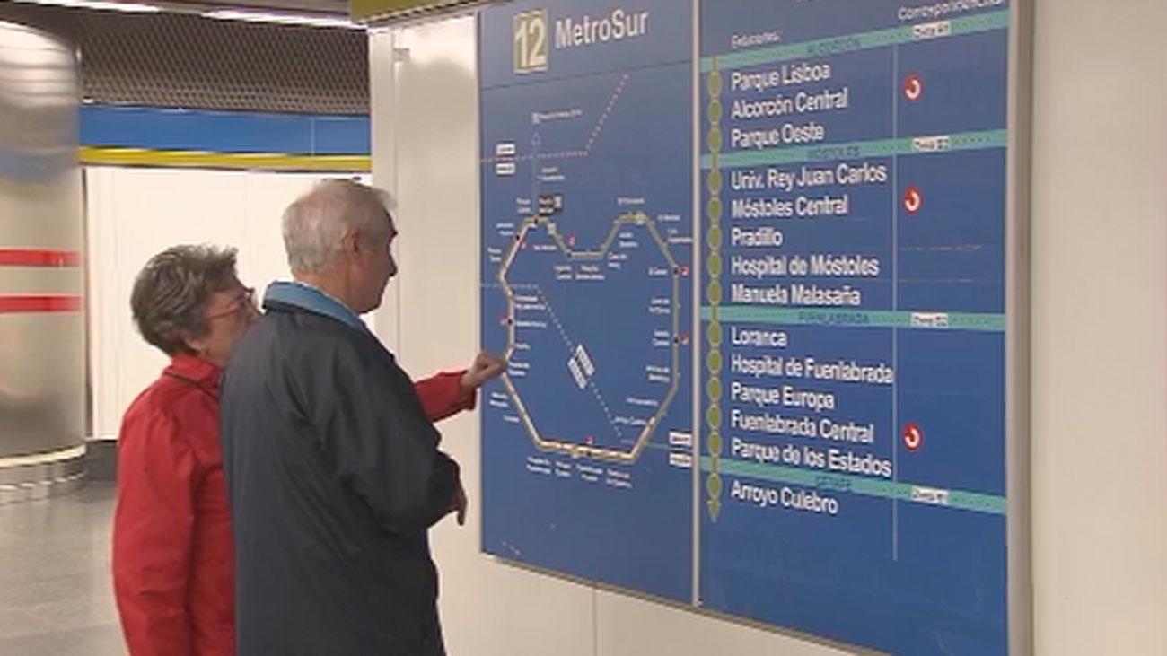 Reabre un tramo de la L12 de Metro, Metrosur