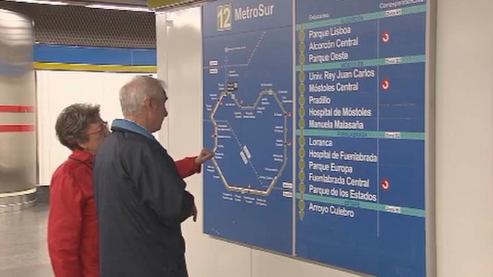 La L12 de Metro reabre el domingo el tramo entre Hospital de Móstoles y Conservatorio