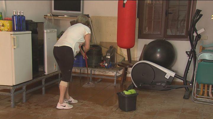 Día para hacer limpieza y balance daños tras las inundaciones en la región