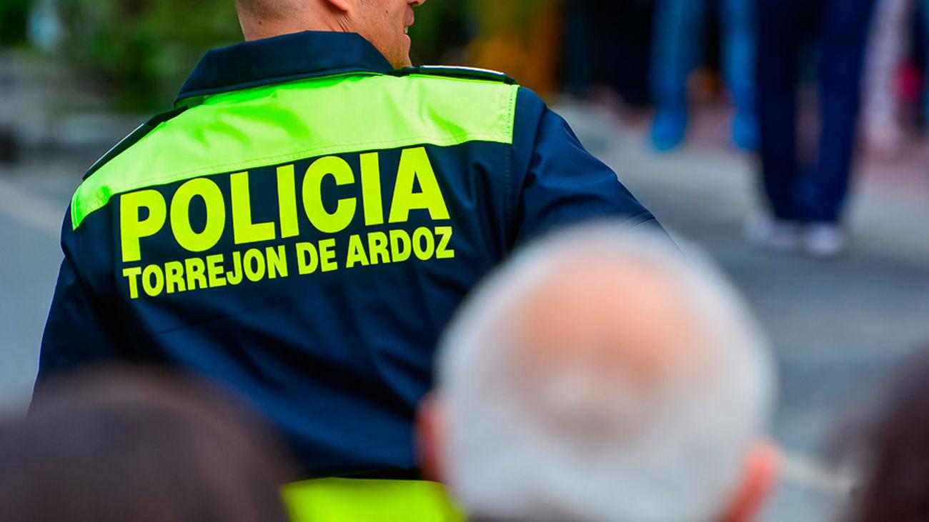 Un agente de la Policía local de Torrejón de Ardoz