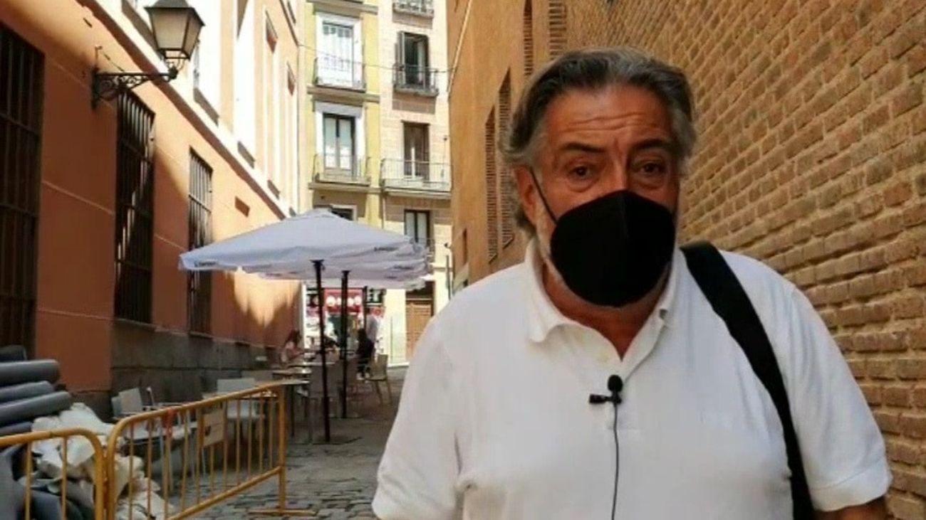 El portavoz del PSOE-M en el Ayuntamiento, Pepu Hernández