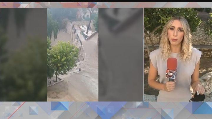 La Dana provoca fuertes riadas en Colmenar de Oreja con coches arrastrados y calles inundadas