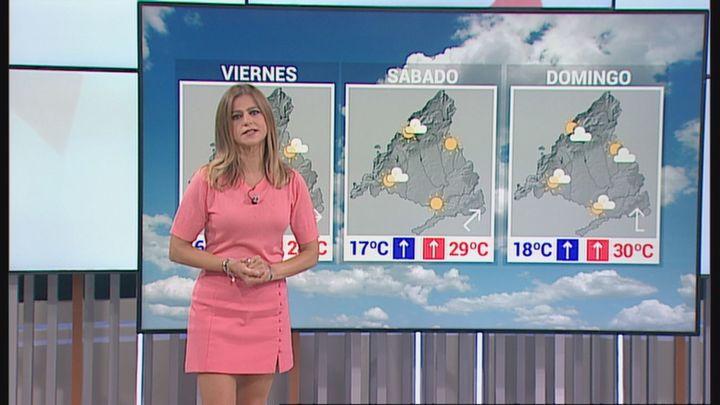 Continúa el riesgo de tormentas este jueves en Madrid