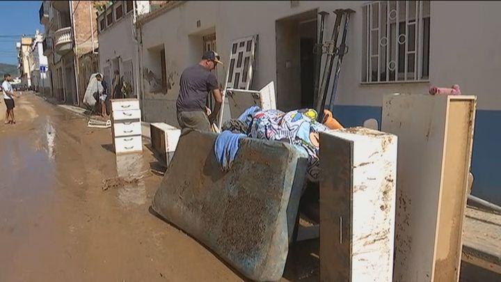 La DANA amenaza con más chubascos fuertes en Baleares y Cataluña tras causar importantes destrozos en Tarragona