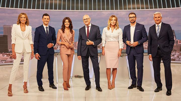 Telemadrid apuesta por profesionales de la casa en sus nuevos informativos