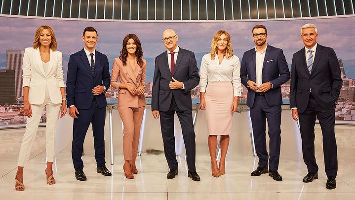 Telemadrid estrena este lunes sus nuevos informativos con una apuesta por los profesionales de la casa