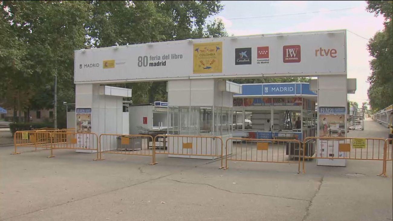La Feria del Libro se prepara para su apertura