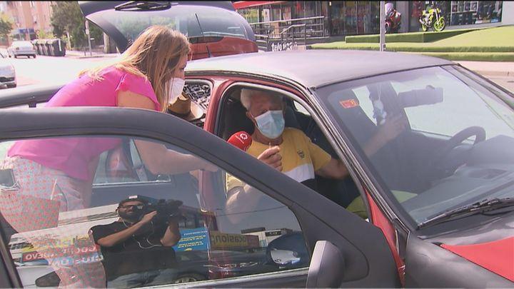 Julián pide ayuda para dejar de vivir en su coche en Collado Villalba