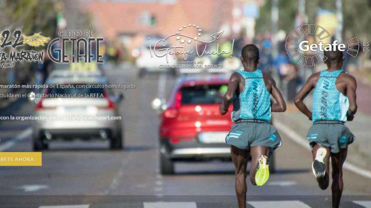 La XXII Media Maratón 'Ciudad  de Getafe' se celebrará el 22 de enero