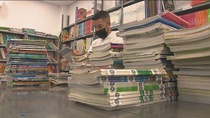 Libros de texto usados hasta un 50% más baratos