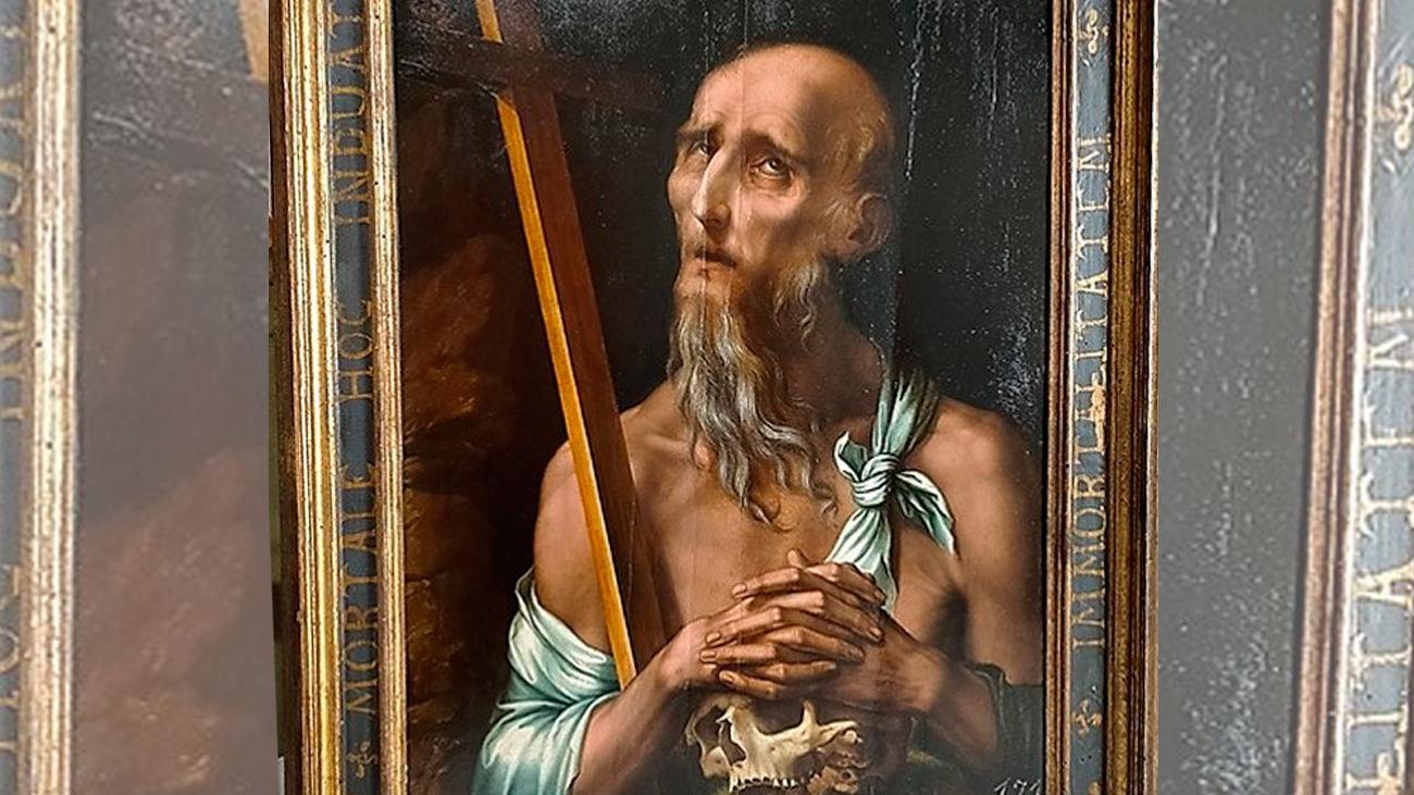 Cuadro de San Lorenzo pintado por 'El Divino'