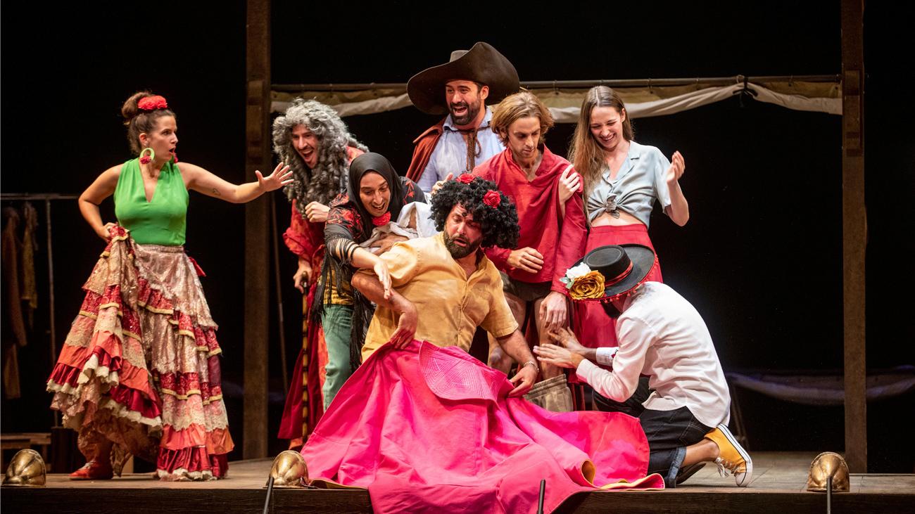Imagen del espectáculo 'Fiesta de Farsantes', de Teatros del Canal