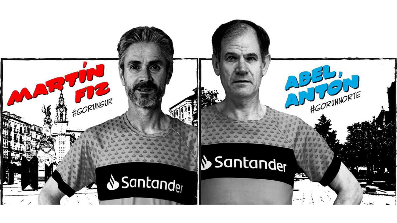 Los capitanes de la carrera Madrid Norte-Sur