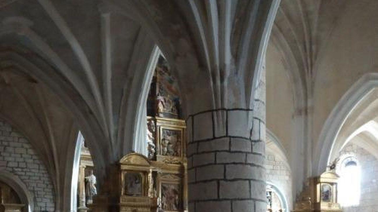 Los vecinos de un pueblo de Burgos recaudan 13.000 euros para salvar su iglesia del siglo XIV