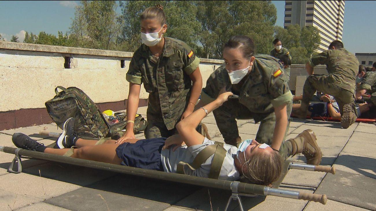 Objetivo: 600 médicos en la Sanidad Militar