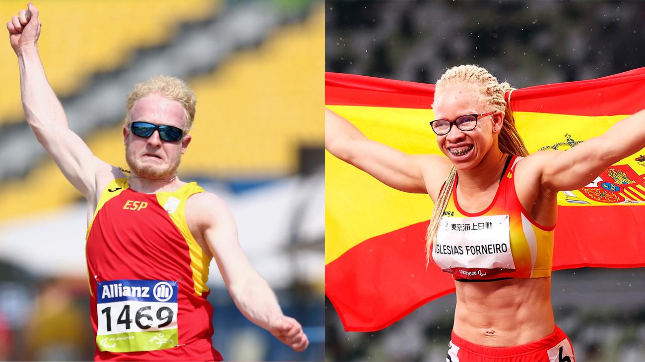 Iván Cano y Adariatou Iglesias, dos de nuestras medallas en los Paraolímpicos de Tokio
