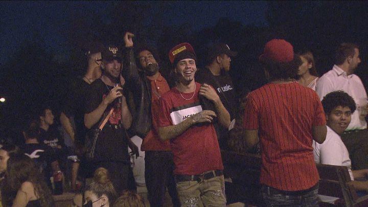 Numerosos jóvenes celebran las fiestas de Alcorcón con botellones sin ningún control