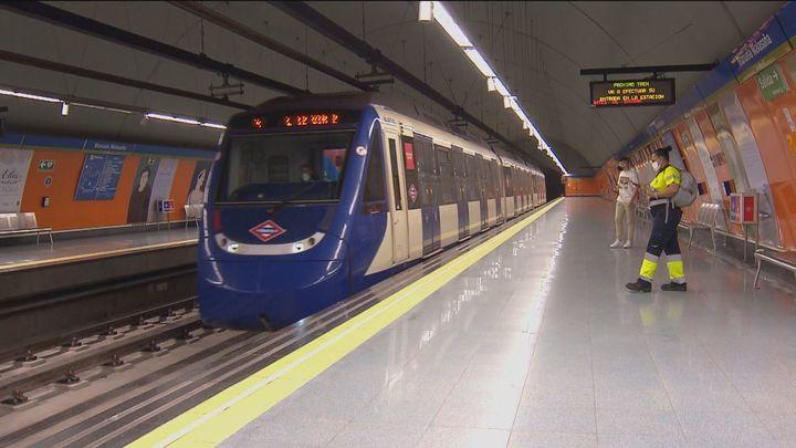 La circulación de la L12 de Metrosur recupera la normalidad