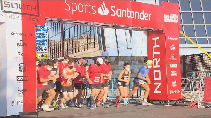 Madrid volvió a acoger la carrera de atletismo norte contra sur