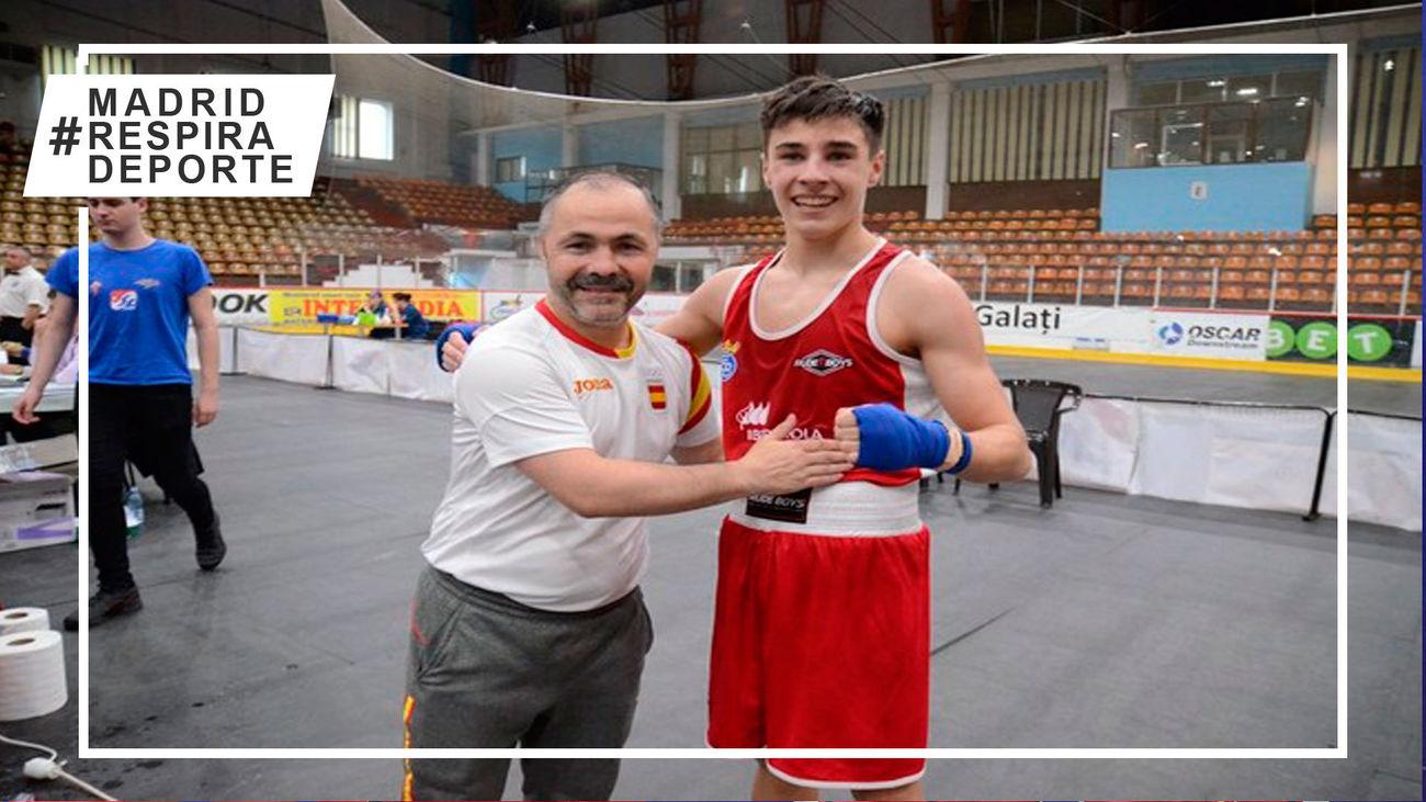 Juan Pantoja, boxeador de Móstoles
