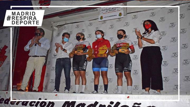 La Cabrera corona a las primeras ganadoras de la Liga Interautonómica de ciclismo femenino