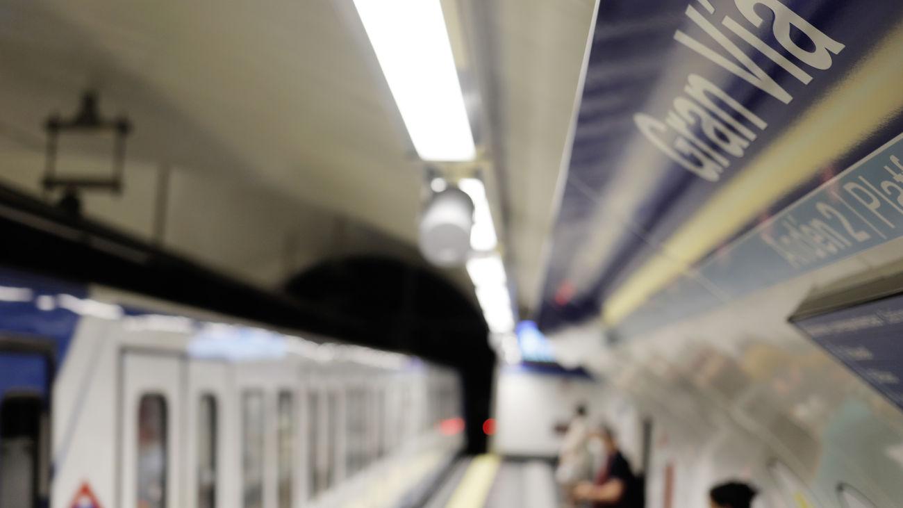 Estación de metro de Gran Vía