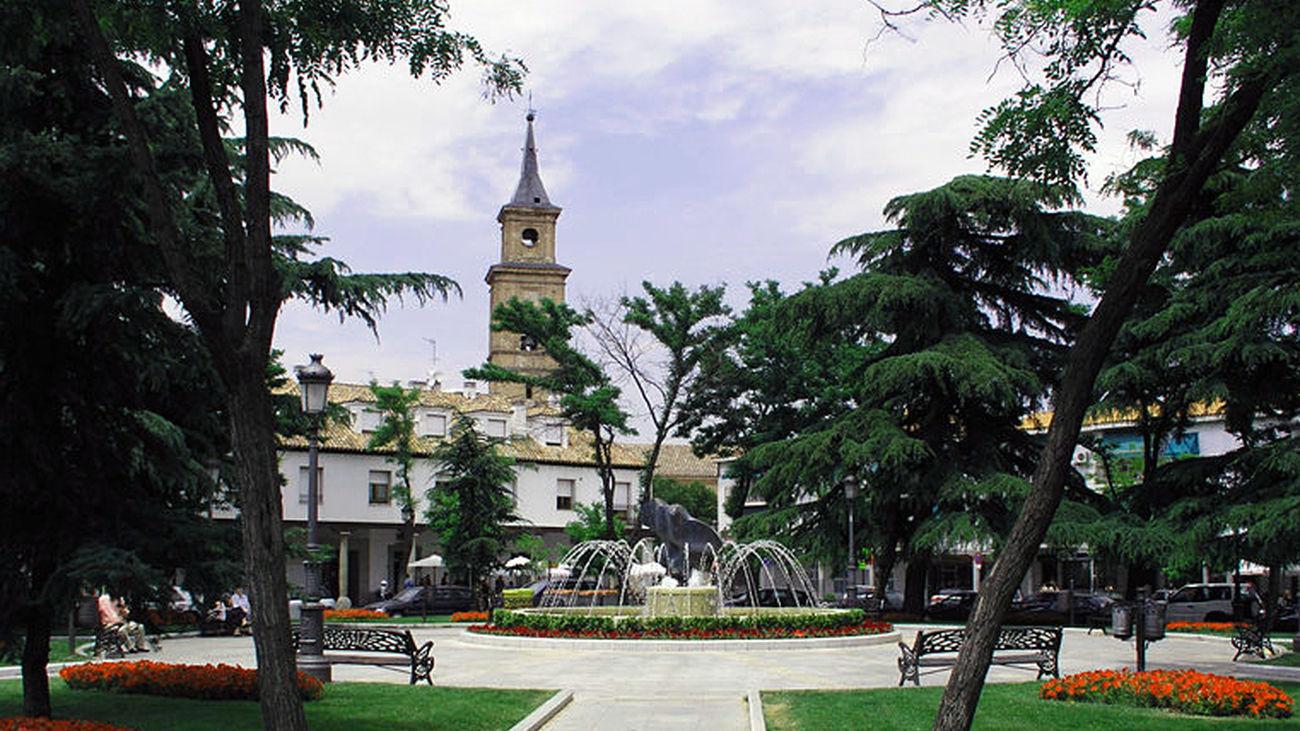 Plaza Mayor de Barajas
