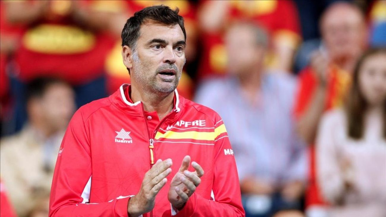 Sergi Bruguera, capitán equipo español Copa Davis