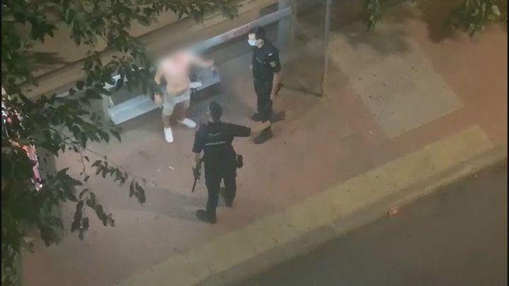 Un joven de Alcalá de Henares, herido por un botellazo