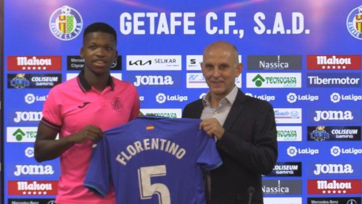 """Florentino Luis: """"Jugar en el Getafe es una oportunidad muy buena"""""""