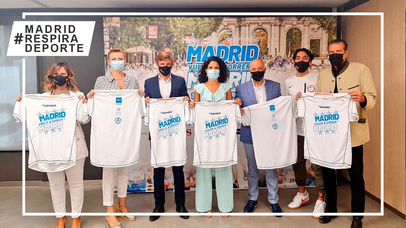 Presentación de 'Madrid corre por Madrid