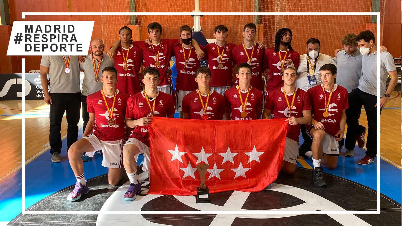 Selección madrileña cadete