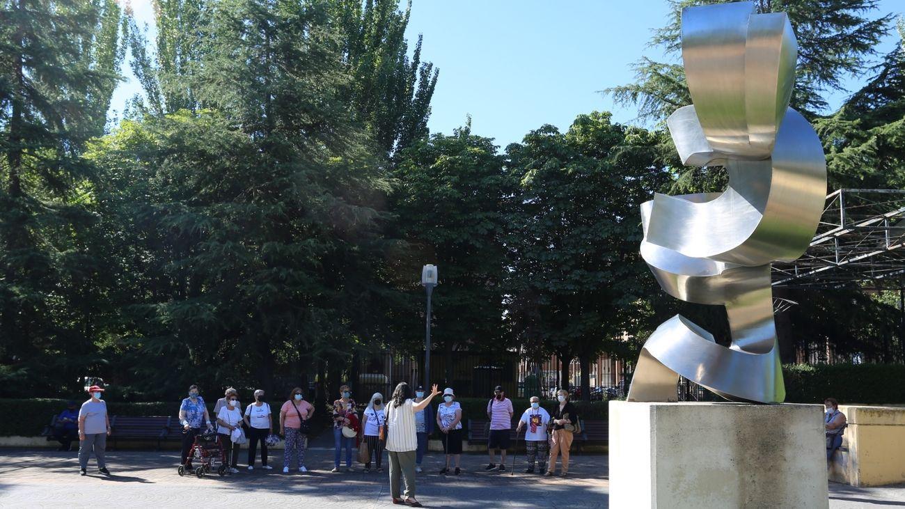 Campamento para mayores celebrado este verano en Leganés