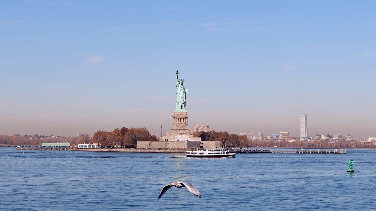 """¿En qué país se construyó la """"Estatua de la Libertad"""" de Nueva York?"""