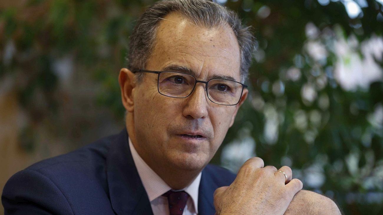 Enrique Ossorio, consejero de Educación, Universidades y Ciencia y portavoz del Gobierno de la Comunidad de Madrid