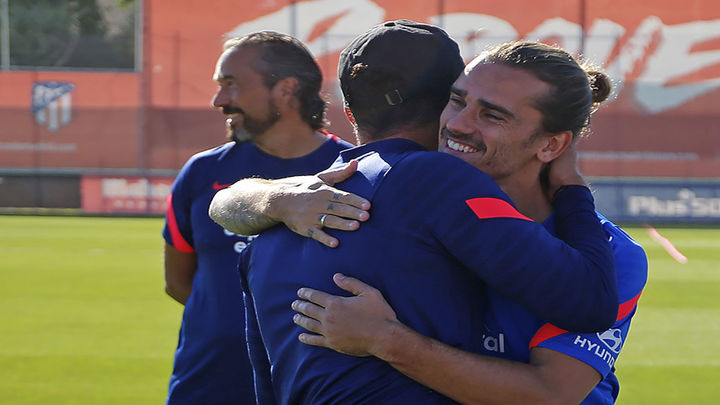 Griezmann estrena su segunda parte en el Atlético de Madrid