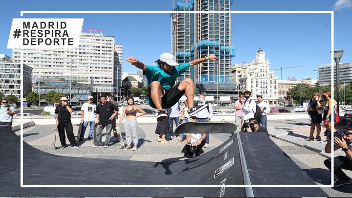 Presentación de 'Madrid Urban Sports', que se celebrará en Madrid Río