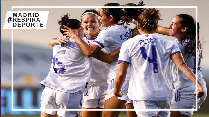 0-1. El Real Madrid logra el billete para la fase de grupos de la Champions femenina