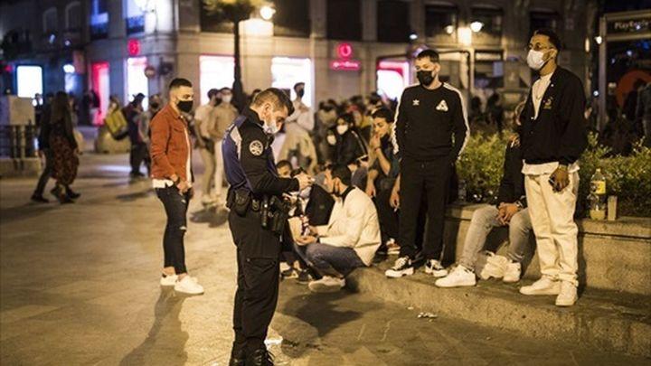 Refuerzo policial en Madrid para combatir el aumento de botellones y altercados